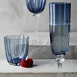 Anthropologie - petal stemless glass