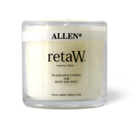 retaW - ALLEN* FRAGRANCE CANDLE