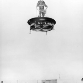U.S. Army - Hiller VZ-1 Pawnee - direct lift rotor aircraft