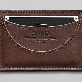 Shinola - Card wallet