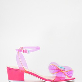 asos - Image 1 of ASOS HYPERACTIVE Heeled Sandals