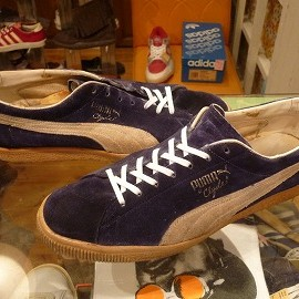 "PUMA - 「<used>70's PUMA Clyde navy""made in YUGOSLAVIA"" size:UK11(29.5-30cm) 16800yen」完売"