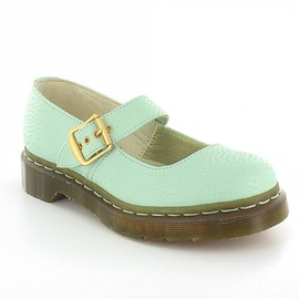 Dr.Martens - Dr.Martens QQ Pearl mary jane pastel mint green