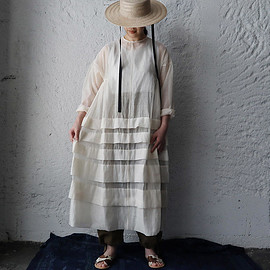 Tabrik - organdy dress (ivory)