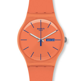 Swatch - NEW GENT Orenge Pink Rebel