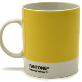 PANTONE - Mug Pantone Yellow by Jackie Piper & Victoria Whitbread