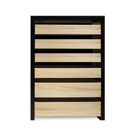 Landscape Products - Paulonia 6drawers natural
