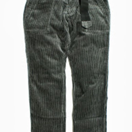 PEEL&LIFT - stripe cord army trousers/glay