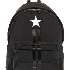 GIVENCHY - STAR PRINTED NEOPRENE BACKPACK