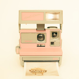 bomobob - Pink Pola Love 8x8 photo