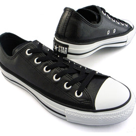 CONVERSE - ALL STAR GLOW OX (Black enamel)