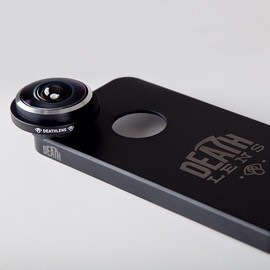 DEATH LENS iPHONE 5/5S,iPHONE 6,iPHONE 6 PLUS FISHEYE ANGLE LENS