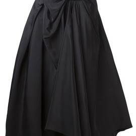VIKTOR & ROLF - gathered bow long skirt