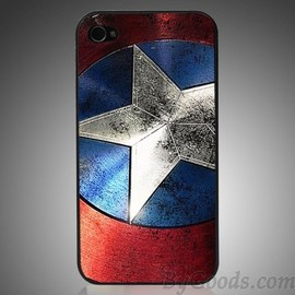 Captain America Phone Case For IPhone 4/4s/5