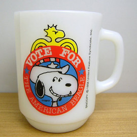 Fire King - Snoopy president no.2