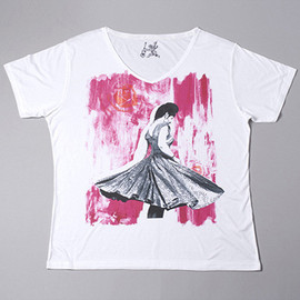 Inspired - Inspired by Jill Furmanovsky Tees - 'Veronica Colour'