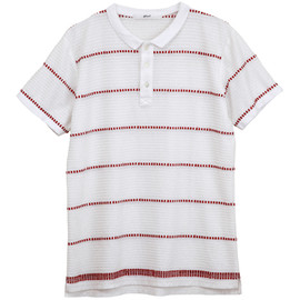 .efiLevol - Embroidery Border Polo Shirt