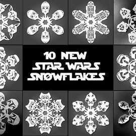 Dude Craft - STAR WARS Snowflakes