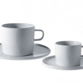 ALESSI - PlateBowlCup, Mocha cup / Saucer