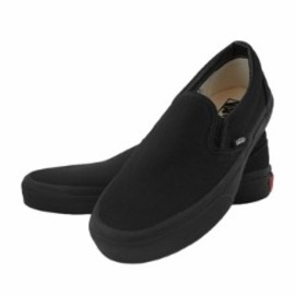 VANS - slipon, all black