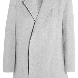 Theory - Clairene brushed wool and cashmere-blend jacket