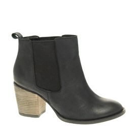ASOS - ALBY Mid Heel Leather Chelsea Boot