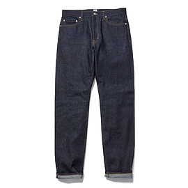 HEAD PORTER PLUS - DENIM PANTS INDIGO