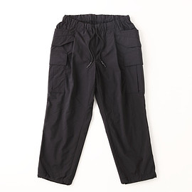 Stripes For Creative - CARGO PANTS NYLON Black