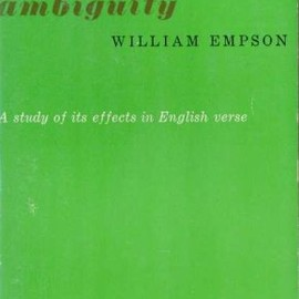 WILLIAM EMPSON - 7 TYPES OF AMBIGUITY (PAPER BACK)