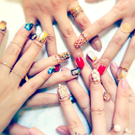 Jouete - Nail Ring collection