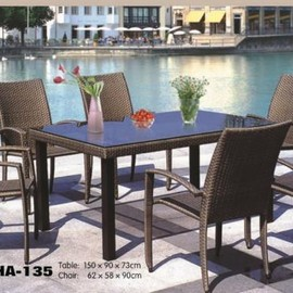 IKEA - Weather Proof Dining Table Set