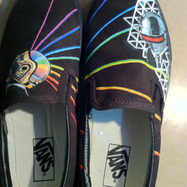 Anna Schroeder - Painted Shoes- Daft Punk Style