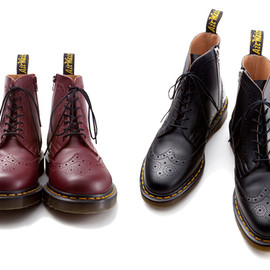 uniform experiment x Dr. Martens - WING TIP BOOTS