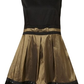 TOPSHOP/TOPMAN - TOPSHOP Open Back Bow Dress by Annie Greenabelle** 1