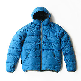 Trail Bum - Not Bad Down Hoodie (Blue Jay)