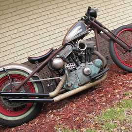 Harley-Davidson - Rat bike