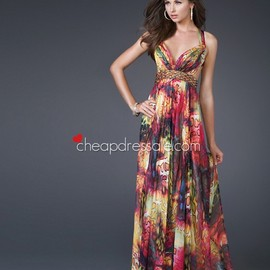 Floor-Length Prom Dress