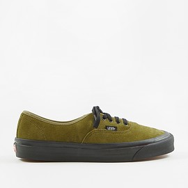 Vans - Authentic 44 DX - (Anaheim Factory) OG Olive/Suede