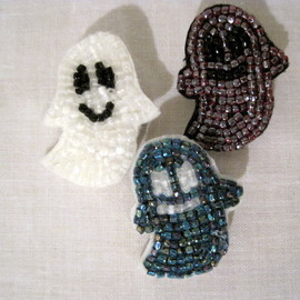 YEAH RIGHT - GHOSTBEADS EMBLEM