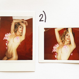danielle sharp - Marilyn Polaroids