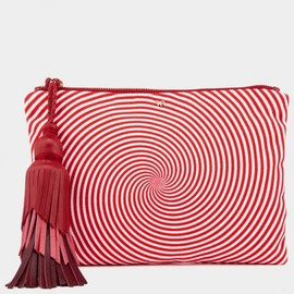ANYA HINDMARCH - Fall 2013 Courtney Eye Twister Swirl Clutch