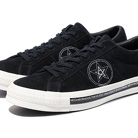 NEIGHBORHOOD × CONVERSE - ONE STAR×NBHD