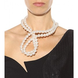 STELLA McCARTNEY - FW2015 Faux pearl necklace