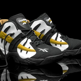 Reebok - The Rail - White/Black/Gold