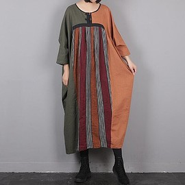 cotton Long hooded Dresses winter T-shirt dress bottoming Dresses boho dress