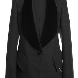 ALEXANDER WANG - FW2015 Cotton Wool Twill Tailored Jacket