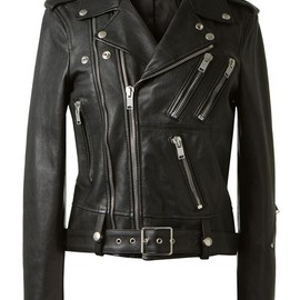 SAINT LAURENT - SS2014 LEATHER BIKER JACKET