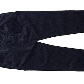 ENGINEERED GARMENTS - B1P Pant-6w Corduroy-Navy