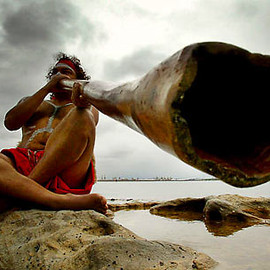 Aborigine - didgeridoo