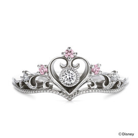 K.UNO - Disney Engagement Ring - Princess Tiara